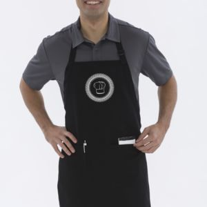 ATC PREMIUM COTTON FULL LENGTH APRON WITH POCKETS Thumbnail