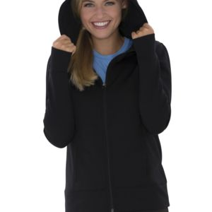 ATC GAME DAYTM FLEECE FULL ZIP HOODED Ladies' SWEATSHIRT Thumbnail