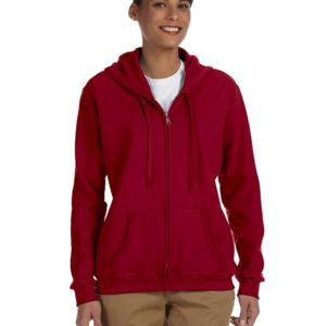 Ladies' Heavy Blend™ Ladies' 8 oz., 50/50 Full-Zip Hood Thumbnail