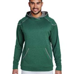 Adult Excel Mélange Performance Fleece Hoodie Thumbnail