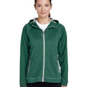 Ladies' Excel Mélange Performance Fleece Jacket Thumbnail